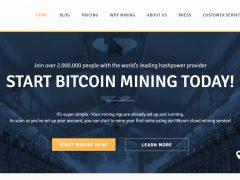 Genesis Mining — облачный сервис добычи криптовалюты